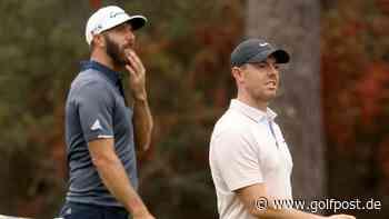 PGA Tour: Warum Dustin Johnson genügsam und Rory McIlroy ein Schaf ist - Golf Post