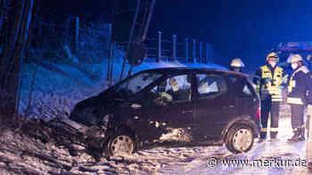Bei Krottenthal: Zwei Männer bei Schneeglätteunfall verletzt - Merkur Online