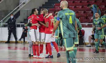 Benfica Jogo Leões Porto Salvo Futsal - Sport Lisboa e Benfica