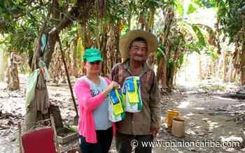 Campesinos de Sitionuevo reciben semillas para fortalecer proyectos de producción - Opinion Caribe