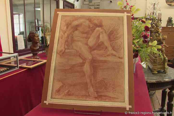 À Compiègne, un dessin inédit du maître italien Le Bernin vendu pour près de 2 millions d'euros - France 3 Régions