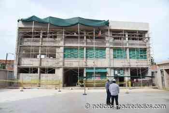 Obra del colegio Alipio Ponce de Puerto Maldonado se encuentra con un avance del 36 % - Radio Madre de Dios