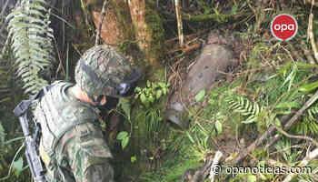 Ejército neutralizó tres cilindros cargados con explosivos en Baraya - Opanoticias