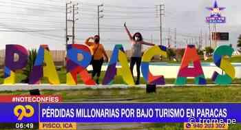 Paracas: negocios registran grandes pérdidas por bajo turismo - Diario Trome