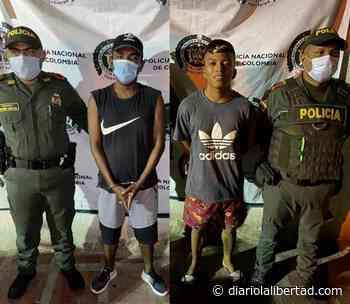 Dos capturas en Sabanalarga, una por violencia intrafamiliar y otra por microtráfico - Diario La Libertad