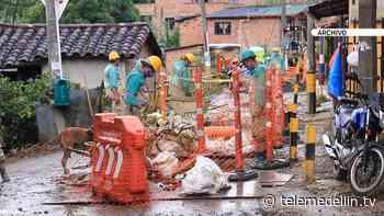 Avanza la construcción de acueducto y alcantarillado en Támesis - Telemedellín