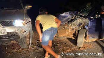 Um ferido numa colisão em Mauriti e outro morre ao cair de moto em Campos Sales - Site Miséria