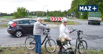 Kreisverkehr Marwitz: Bauarbeiten stehen in den Startlöchern - Märkische Allgemeine Zeitung