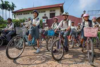 Fietsen en wandelen voor weeskinderen in Cambodja - Gazet van Antwerpen