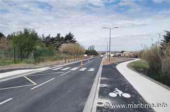 Marignane : les travaux de l'avenue Raoul-Salan bientôt terminés - Marignane - Vie des communes - Maritima.info