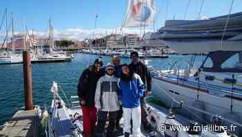 Pollution des océans : six étudiants s'entraînent au Cap d'Agde pour un tour de l'Atlantique en voilier - Midi Libre