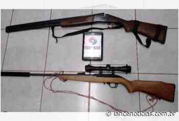 Homens são presos com armas e munições no centro de Abelardo Luz - Lato