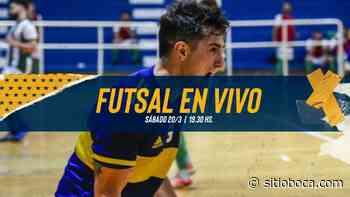 (VIDEO) BOCA VS. EL TALAR | ¡Futsal en vivo en el Canal de Boca! | Sábado 20/03 - 19.30 hs. - SITIO BOCA