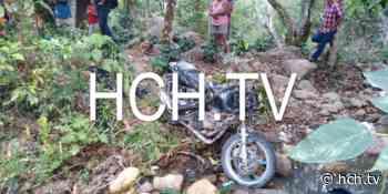 Fatal accidente vial deja un muerto y un herido en El Zarzal, Gracias, Lempira - hch.tv
