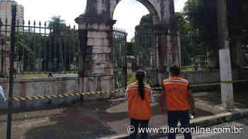 Sob risco de acidente, Cemitério da Soledade é interditado - Diário Online