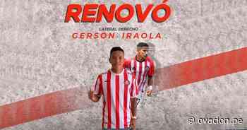 Unión Huaral también renovó a Iraola | Ovación Corporación Deportiva - ovacion.pe