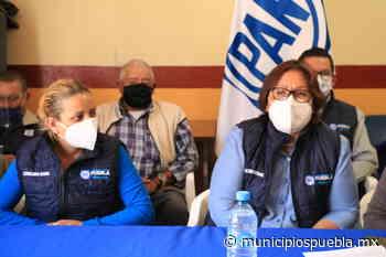 Panistas de Chignahuapan piden a Genoveva Huerta que regidurías sean para vecinos de la zona - Municipios Puebla