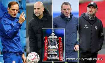 FA Cup semi-final: Chelsea face Manchester City and Southampton take on Leicester