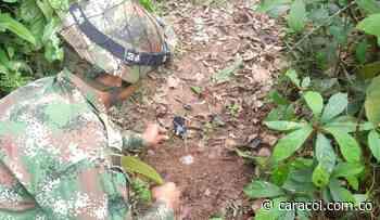 En Murindó ya se han destruido diez artefactos explosivos - Caracol Radio
