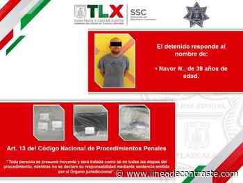 La SSC detiene en Calpulalpan a una persona por el probable delito de robo - Linea de Contraste