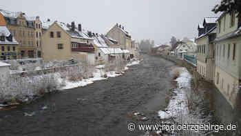 Hochwasserschutzmaßnahme in Olbernhau wird fortgesetzt - Radio Erzgebirge