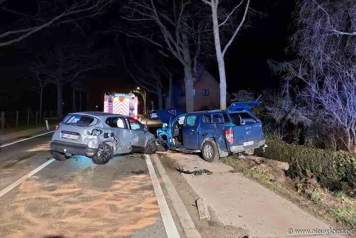 Vier personen opgepakt na ongeval