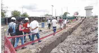 Tumbes: Obra de saneamiento en Aguas Verdes culmina en mayo - Diario Correo