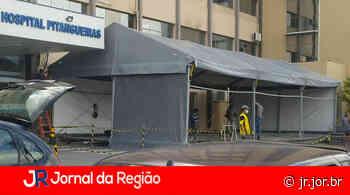 Hospital Pitangueiras monta tenda para pacientes com suspeita de Covid - JORNAL DA REGIÃO - JUNDIAÍ