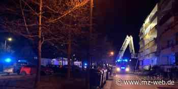 Hartnäckiger Brandstifter?: Wohnblock in Coswig evakuiert | MZ.de - Mitteldeutsche Zeitung