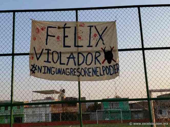 Aparecen pintas en Tixtla y Chilapa contra Félix Salgado Macedonio - Excélsior
