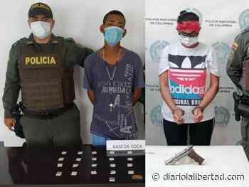 Dos capturados dejan operativos policiales en Sabanagrande y Baranoa, Atlántico - Diario La Libertad