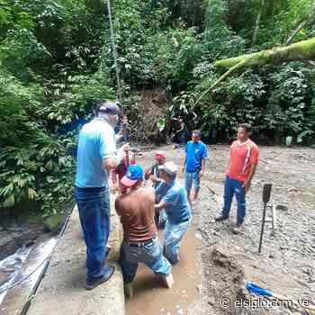 Centro de La Colonia Tovar vuelvea recibir agua potable por tuberías - Diario El Siglo