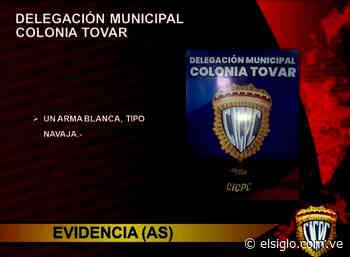 Detenido sujeto por el delito de lesiones en la Colonia Tovar - Diario El Siglo