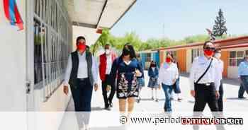 Equipan escuelas de Ojocaliente - Periódico Mirador