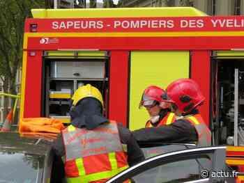 Yvelines. Rosny-sur-Seine : une benne contenant des déchets électroménagers prend feu - actu.fr