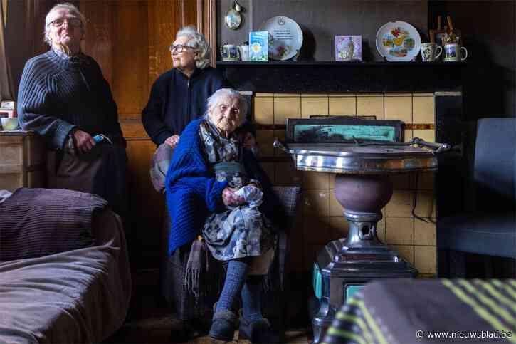 """Bertha (110) is de oudste Belg die nog thuis woont: """"Een oude boom moet ge niet meer verplanten. De dokter zegt dat ook"""""""