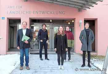 Landau an der Isar - Duale Studenten starten praktische Ausbildung am ALE - idowa