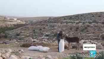 Reporteros - Al sur de Hebrón, en las colinas de Cisjordania, dos mundos conviven incómodos uno al lado del otro - FRANCE 24