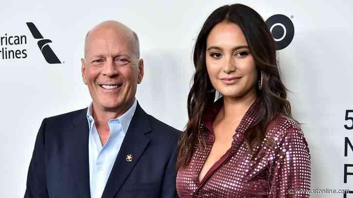 Bruce Willis' Wife Emma Heming Shares Heartwarming 12-Year Wedding Anniversary Post - Entertainment Tonight