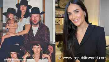 Demi Moore shares throwback pic with ex-husband Bruce Willis, calls him one of a kind - Republic TV