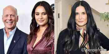Bruce Willis' Wife Emma Heming and Ex-Wife Demi Moore Wish Him a Happy Birthday: 'Our Blended Families' - PEOPLE