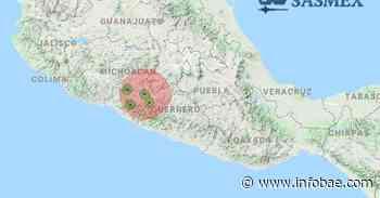 Se registró un sismo de magnitud 4 con epicentro en Ciudad Altamirano, Guerrero: no ameritó alerta sísmica - infobae