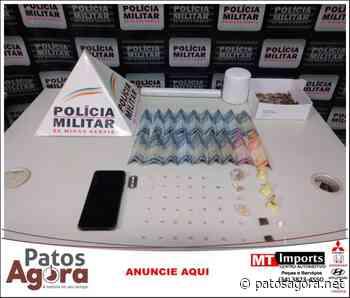 PM de Monte Carmelo realiza operação e apreende drogas em residência - Patos Agora