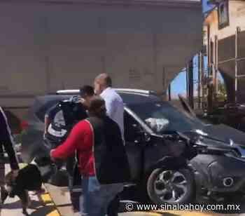 Automovilista intenta ganarle al tren en La Cruz de Elota y es arrollado (vídeo) - Sinaloahoy