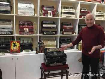 Audenge : André Rambaud acquiert un accordéon de 1952 - Sud Ouest
