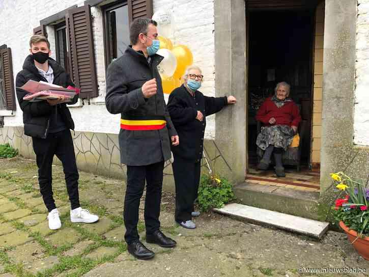 Gemeente viert 110de verjaardag van Bertha