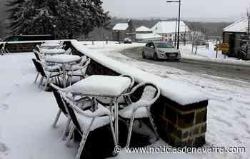 La nieve en Roncesvalles - Noticias de Navarra