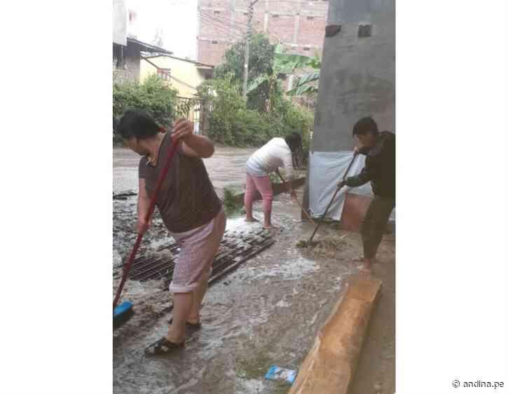 Piura: lluvias intensas provocan activación de quebradas y deslizamientos en Huancabamba - Agencia Andina