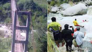 Morropón: tras cinco días encuentran cuerpo de joven que cayó de puente [Vídeo] - Diario El Tiempo | Piura | Noticias
