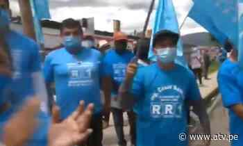 Elecciones 2021: Rafael López Aliaga realiza actividades en Jauja - ATV.pe